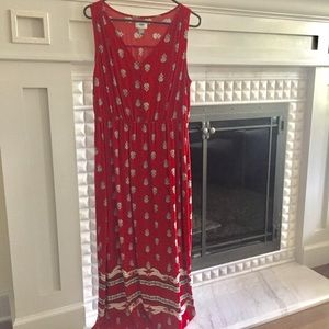 Old Navy Floral Patterned Sleeveless Dress